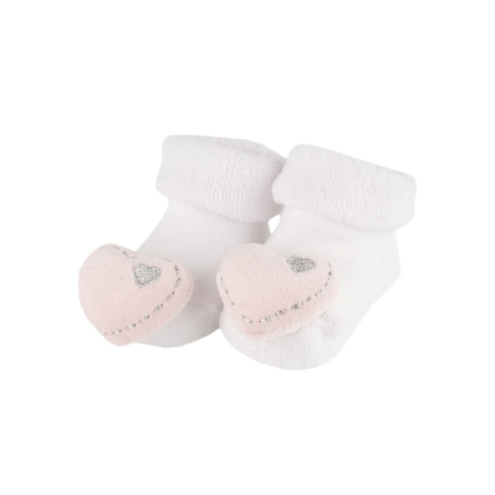 Bambam Baby Heart Rattle Socks 6 50 Scottie Russell