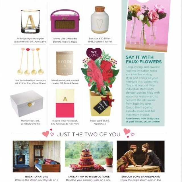 Good Homes valentines day gift guide