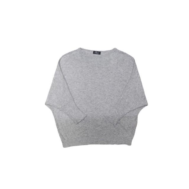 Grey batwing jumper