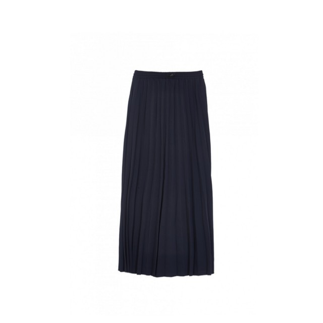 Navy redoute skirt