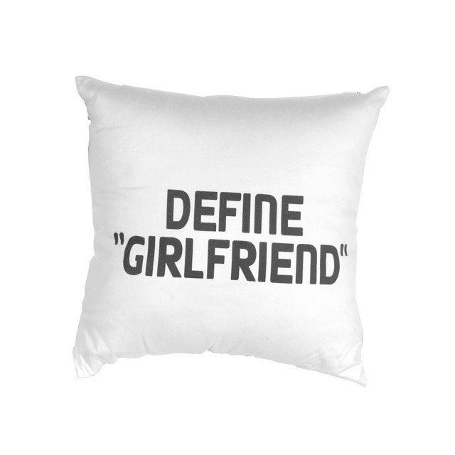 """Define Girlfriend"" Cushion"
