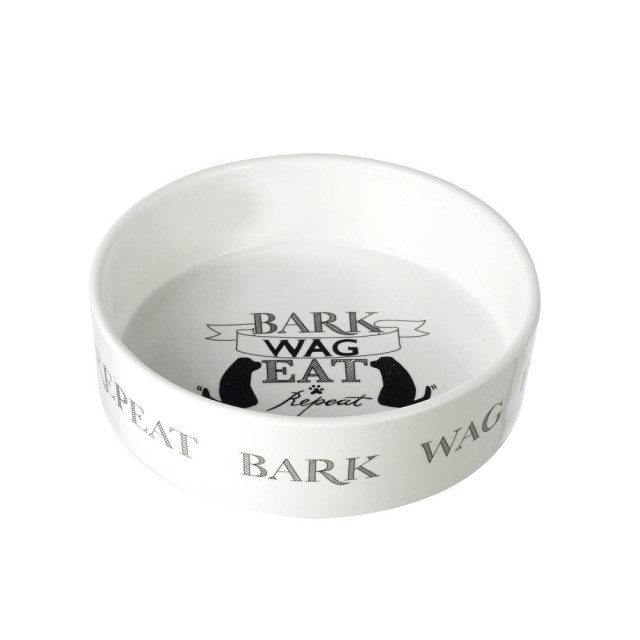 Large dog bowl