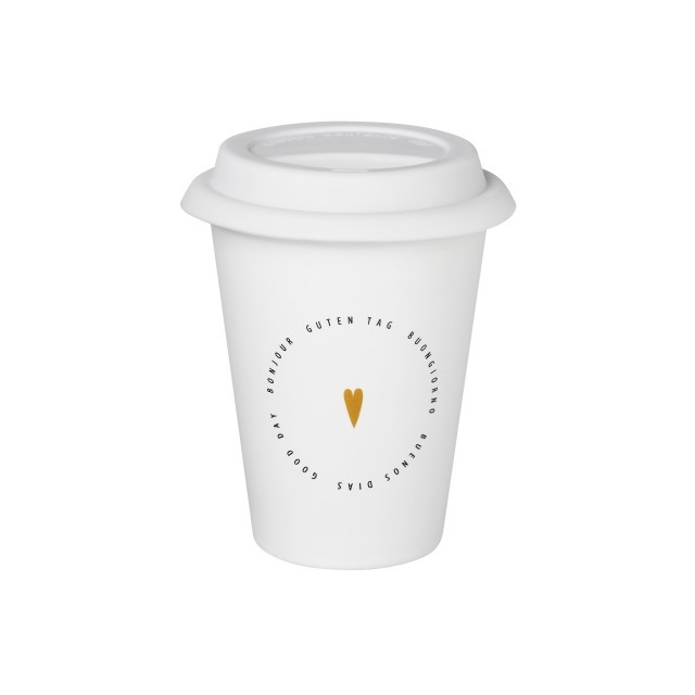"Small ""good day"" reusable cup"