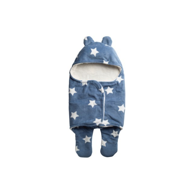 Baby blue winter suit