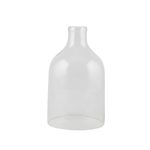 Bottle shape glass cover