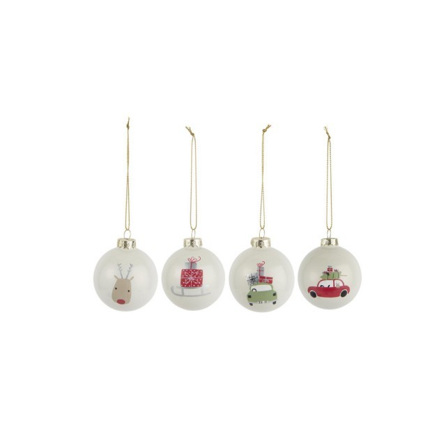 Christmas pattern bauble