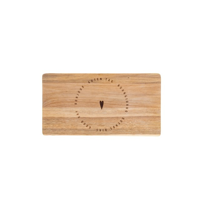 Good day wooden board