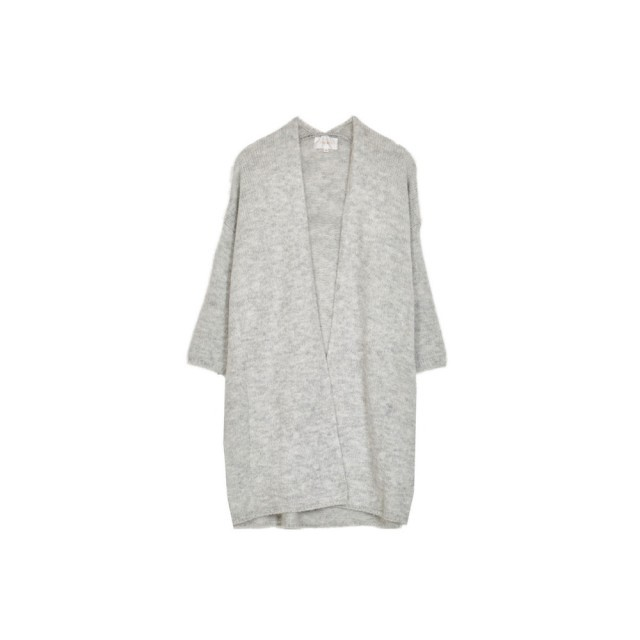 Grey radio cardigan