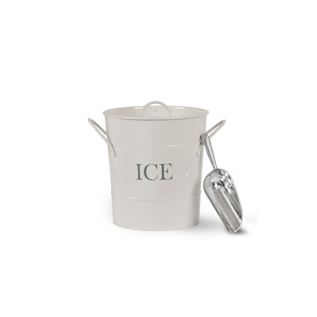 Ice bucket with shovel