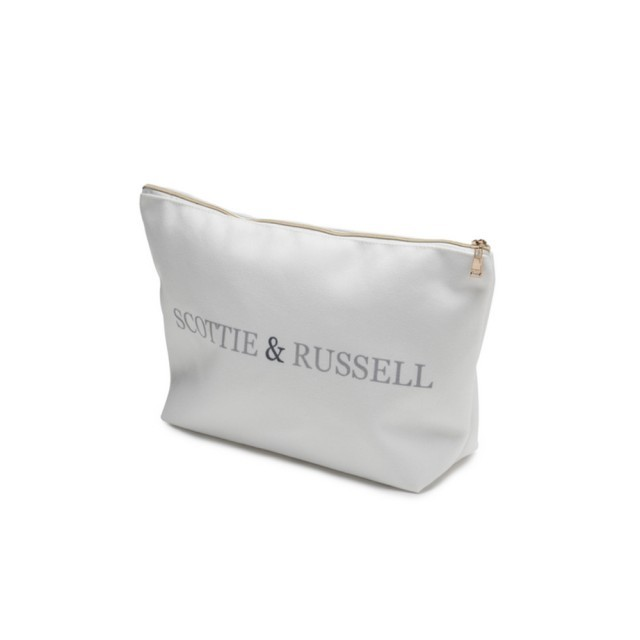 Large Scottie & Russell Cosmetics bag