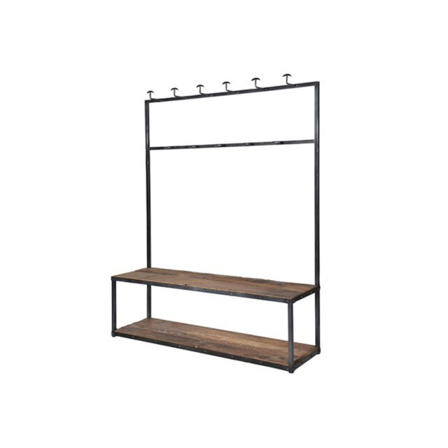 Large bench coat rack