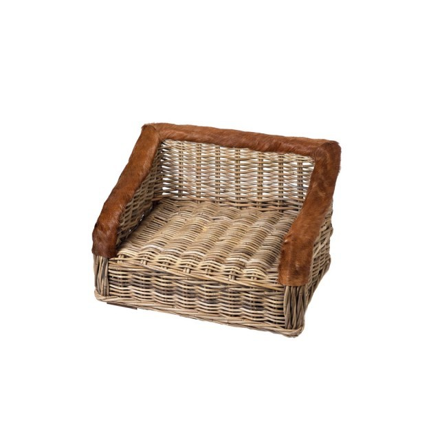 Luxury Wicker dog bed
