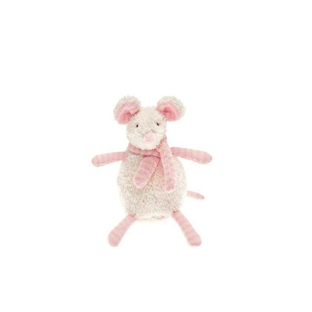 Mini pink soft mouse
