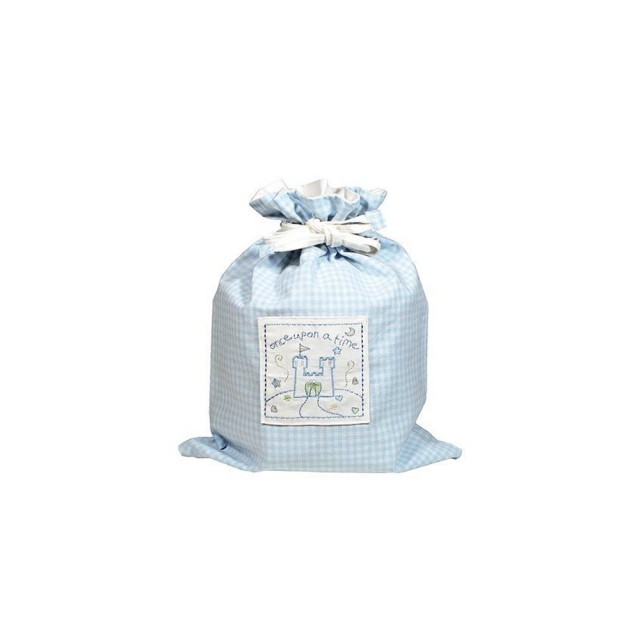 Blue once upon a time drawstring bag
