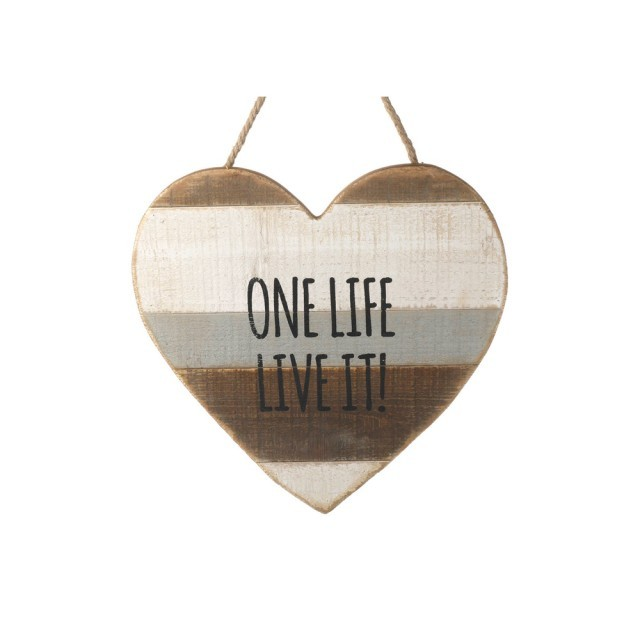 One Life Hanging heart