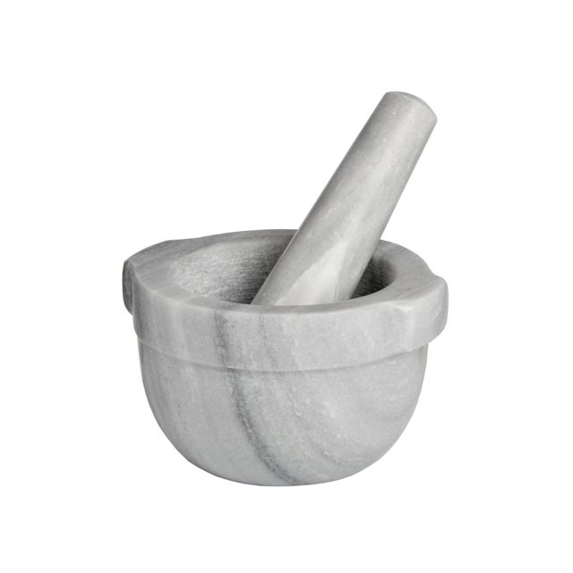 Marble pestle & mortar