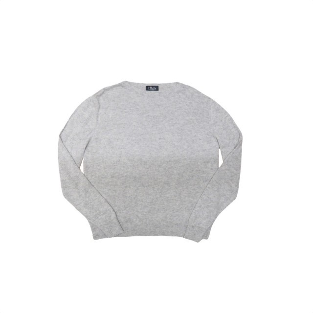 Plain grey penny jumper