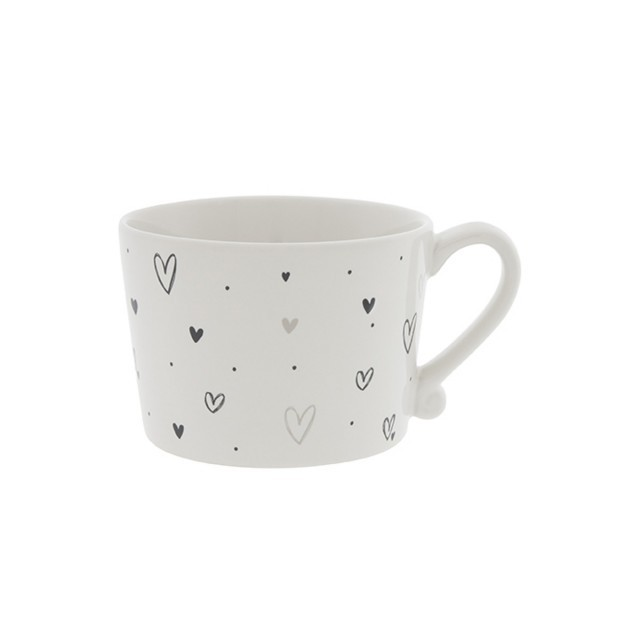 Scattered heart mug