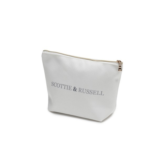 Small Scottie & Russell cosmetics bag