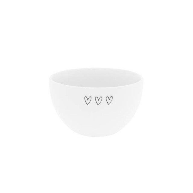 Triple heart bowl