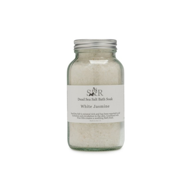 White jasmine bath salts