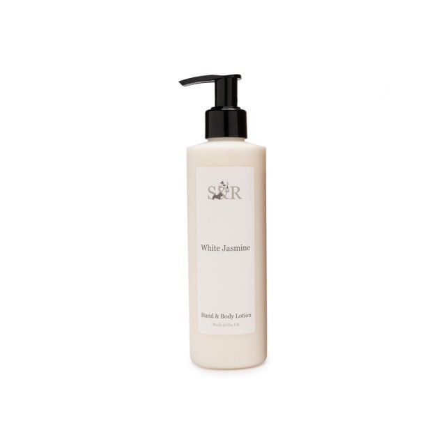 White jasmine hand & body lotion