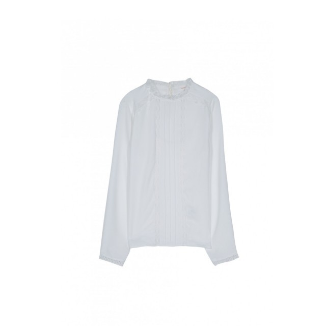 White odette blouse